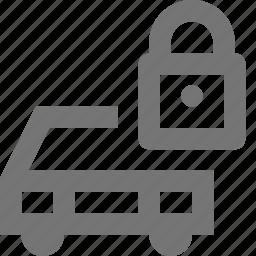 car, lock, security, transportation icon
