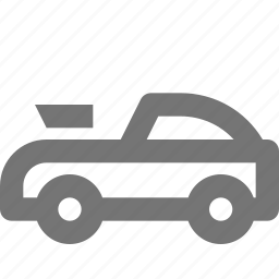 automobile, car, convertible, road, sports, transportation, vehicle icon