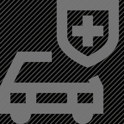 car, security, shield, transportation icon