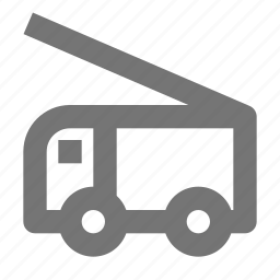 construction, fire truck, transportation, truck icon