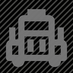 transportation, truck icon