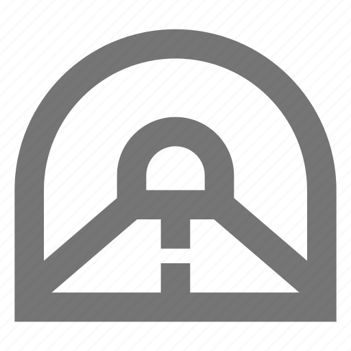 automobile, drive, road, street, travel, tunnel, vehicle icon