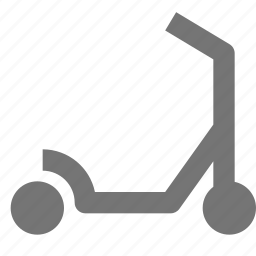 scooter, transportation icon