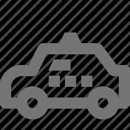 taxi, transportation icon