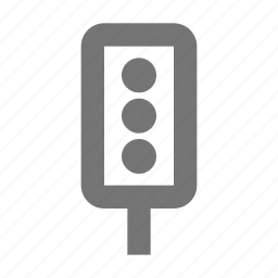 light, signal, traffic light, traffic signal icon