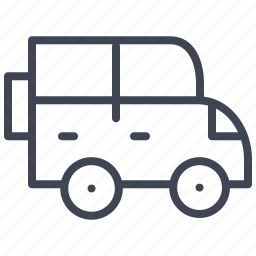 automobile, car, transport, transportation, truck, vehicle icon