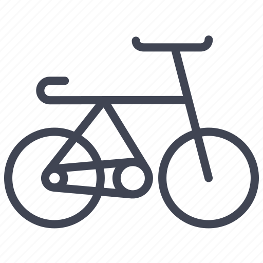 bicycle, bike, cycling, transport, transportation, vehicle icon