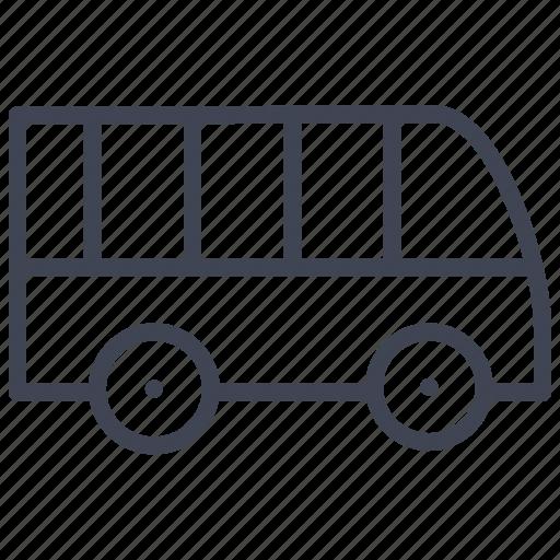 Bus, public, transport, transportation, travel, vehicle icon - Download on Iconfinder