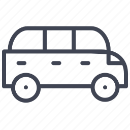 car, limousine, transport, transportation, vehicle icon
