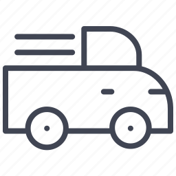 pick, transport, transportation, truck, up, vehicle icon
