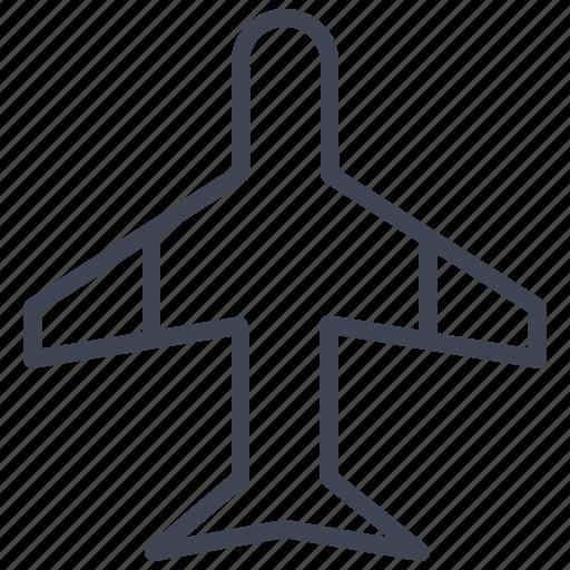 aeroplane, airplane, flight, plane, transport, transportation icon
