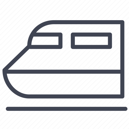 train, transport, transportation, travel, vehicle icon