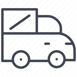 automobile, car, transport, transportation, travel, truck, vehicle icon
