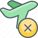 airplane, flight, off, plane, remove, take, travel icon