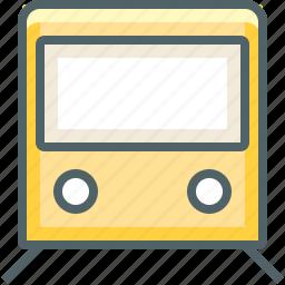 metro, rail, railroad, railway, subway, transport, transportation icon
