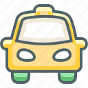 automobile, cab, car, taxi, transport, transportation, vehicle icon