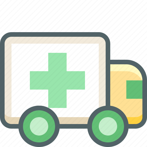ambulance, emergency, health, hospital, medical, medicine, van icon