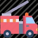 emergency, firetruck, transport, transportation, truck, vehicle