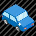 auto, automobile, car, motorcar, passenger car, suv icon