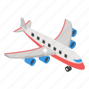 airliner, air transport, airbus, aircraft, flight, aeroplane icon