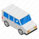 delivery van, transport, van, vehicle, wagon icon