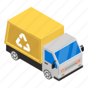 delivery cargo, cargo truck, delivery services, logistics, recycling truck, truck, delivery vehicle icon