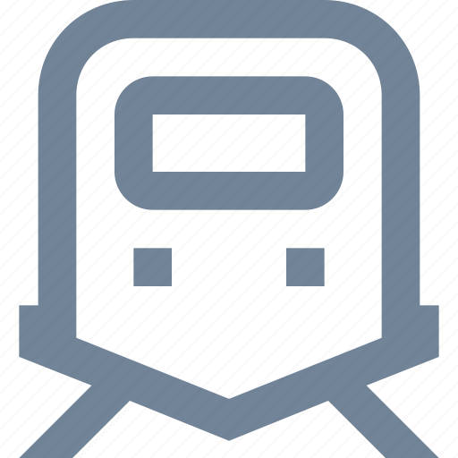 electric, metro, public, train, transportation, underground icon