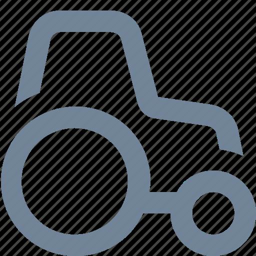farm, machine, tractor, transportation, vehicle, work icon