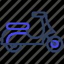 motorcycle, scooter, bike, transport, motorbike