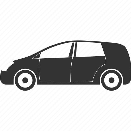 automobile, car, modern icon