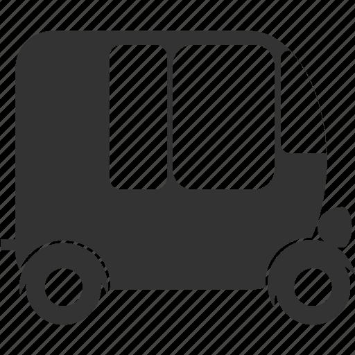 car, classic, retro icon