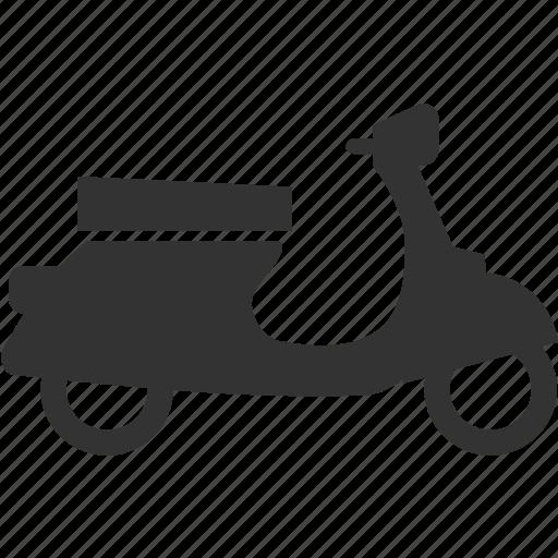 scooter, uniqe, vespa icon
