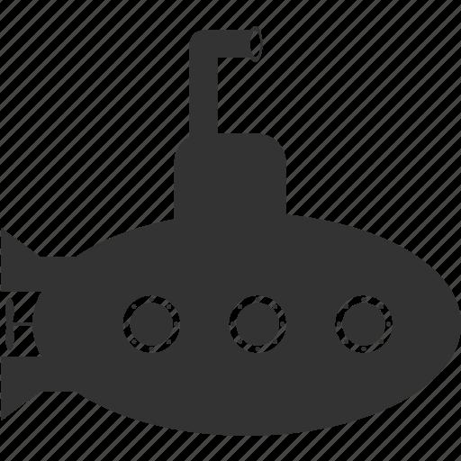 sea, ship, water icon