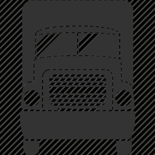heavy, transportation, truck icon