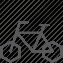 bicycle, bike, ride, transport, travel, vehicle icon