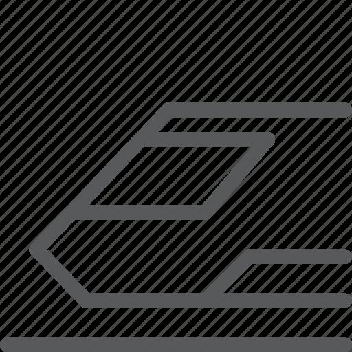 bullet, metro, railway, subway, train, transport, travel, vehicle icon