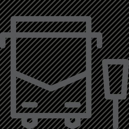 bus, passanger, service, stop, transport, travel, vehicle icon