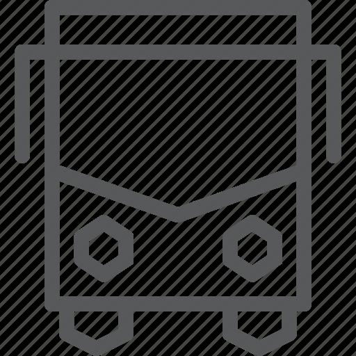 bus, public, service, transport, travel, vehicle icon