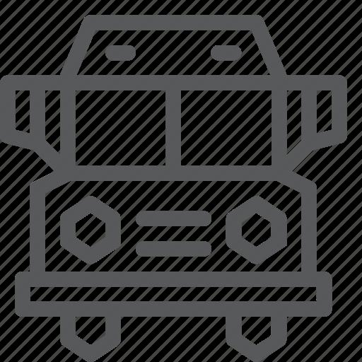 bus, passanger, service, transport, travel, vehicle icon