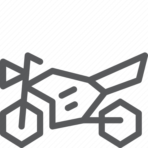 motorbike, motorcycle, scooter, transport, travel, vehicle icon