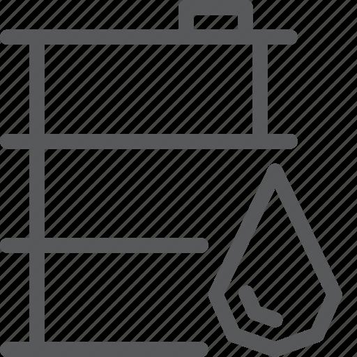 barrel, container, fuel, oil, petrol, pump, transport, travel icon