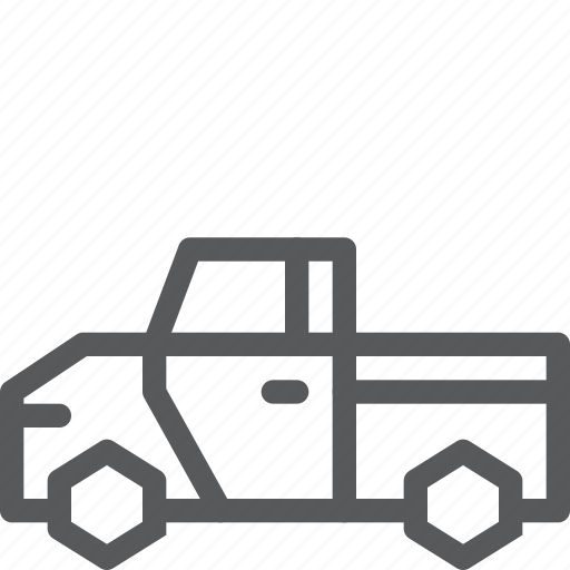 cargo, delivery, pickup, transport, travel, truck, vehicle icon