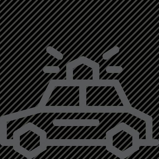 car, drive, patrol, police, transport, travel, vehicle icon