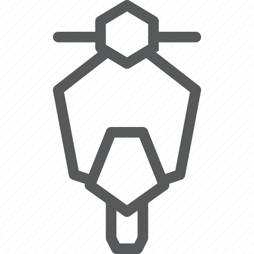 motorbike, motorcycle, ride, transport, travel, two wheel, vehicle, vespa icon