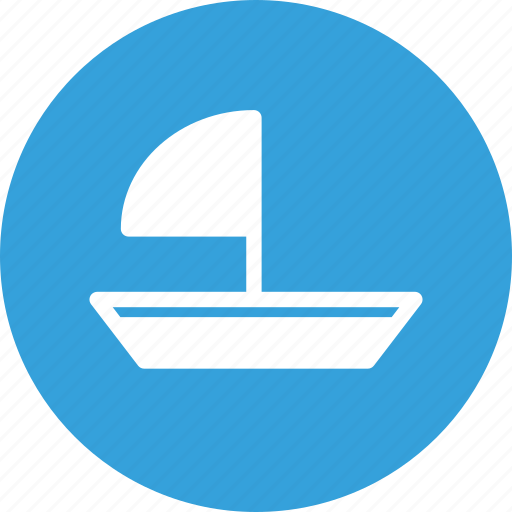 boat, sail boat, sailboat, sea icon