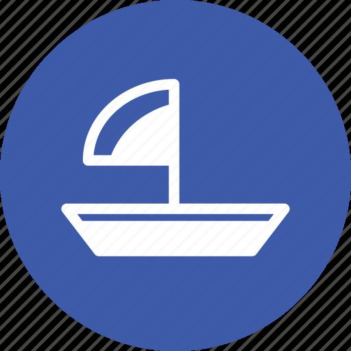 boat, sail boat, sailboat, sea icon
