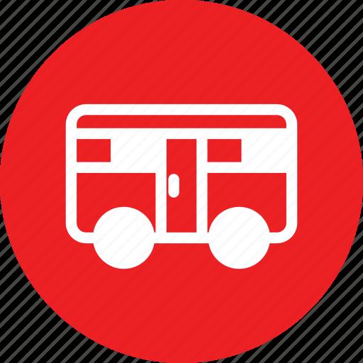mini bus, minibus, self driving, vehicule icon