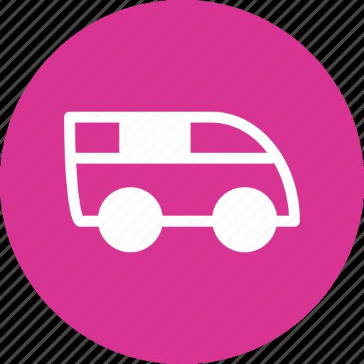 bus, car, micro bus, microbus, vehicule icon