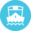 cruise, export, sea, ship, shipping icon