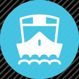 cruise, export, sea, ship, shipping icon